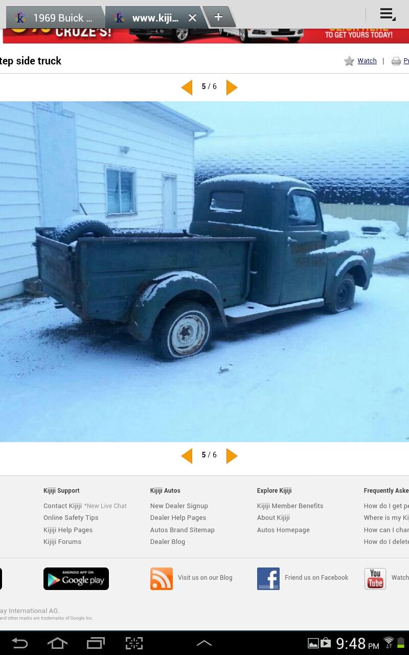 1948-1953 Dodge Truck Registry Display