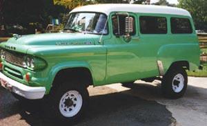 1965 Power Wagon Town W100
